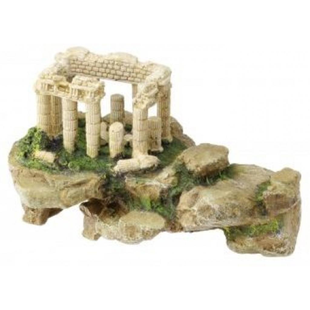Akropolis op rots aquarium decoratie van for Decoratie aquarium