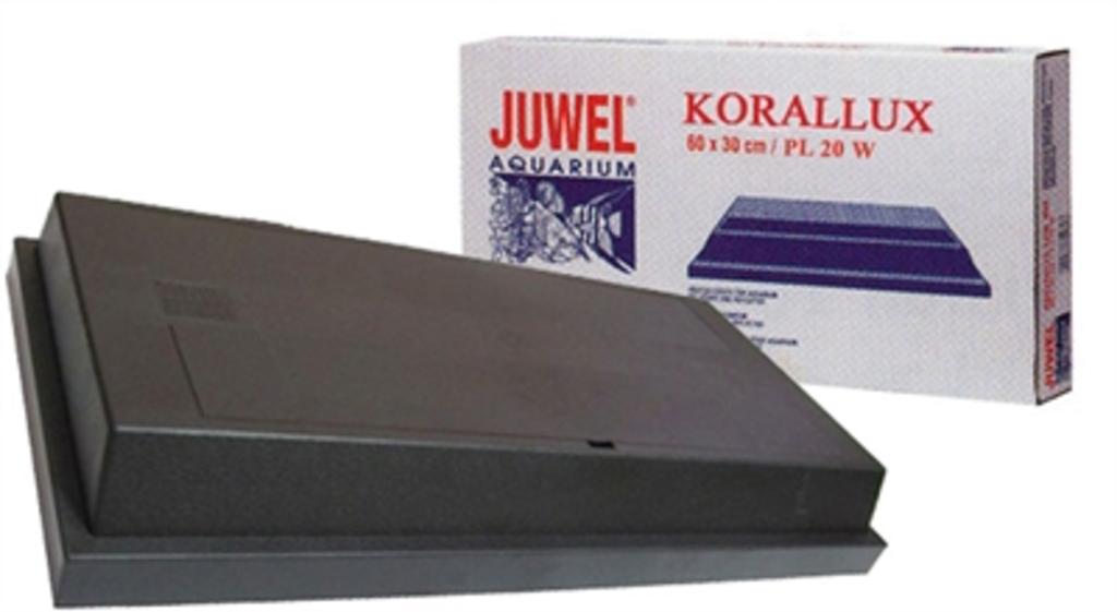 Juwel Korallux Lichtkap Zwart 1x20 Watt 60x30 Cm