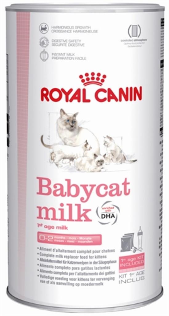 royal canin babycat milk van royal canin katten algemeen katten. Black Bedroom Furniture Sets. Home Design Ideas