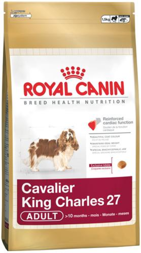 reviews en beoordelingen van royal canin cavalier king charles 27 van royal. Black Bedroom Furniture Sets. Home Design Ideas