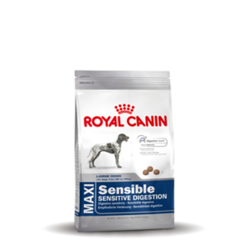 royal canin maxi sensible 15 kg van royal. Black Bedroom Furniture Sets. Home Design Ideas